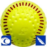 Baden SSBR Featherlite Practice Softball - 12""