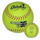 Baden GB GAME Leather Match ball - 12in