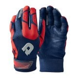 Demarini CF Batting Gloves - Navy/Red