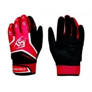 Louisville BG Omaha Batting Gloves - Red