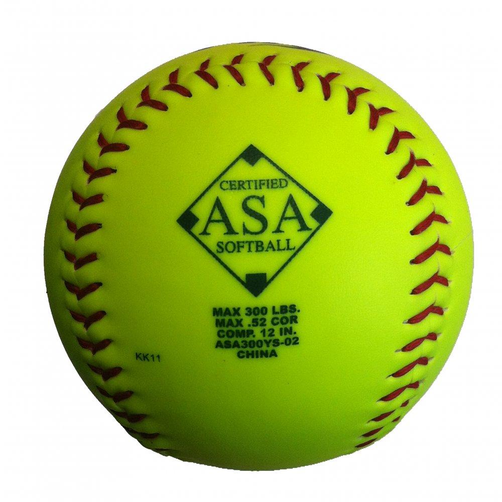 Softball: Baden ASA300 Fire Synthetic Match Ball